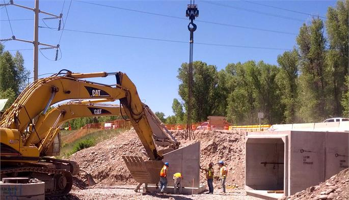 Highway 390 Underpass Project 2