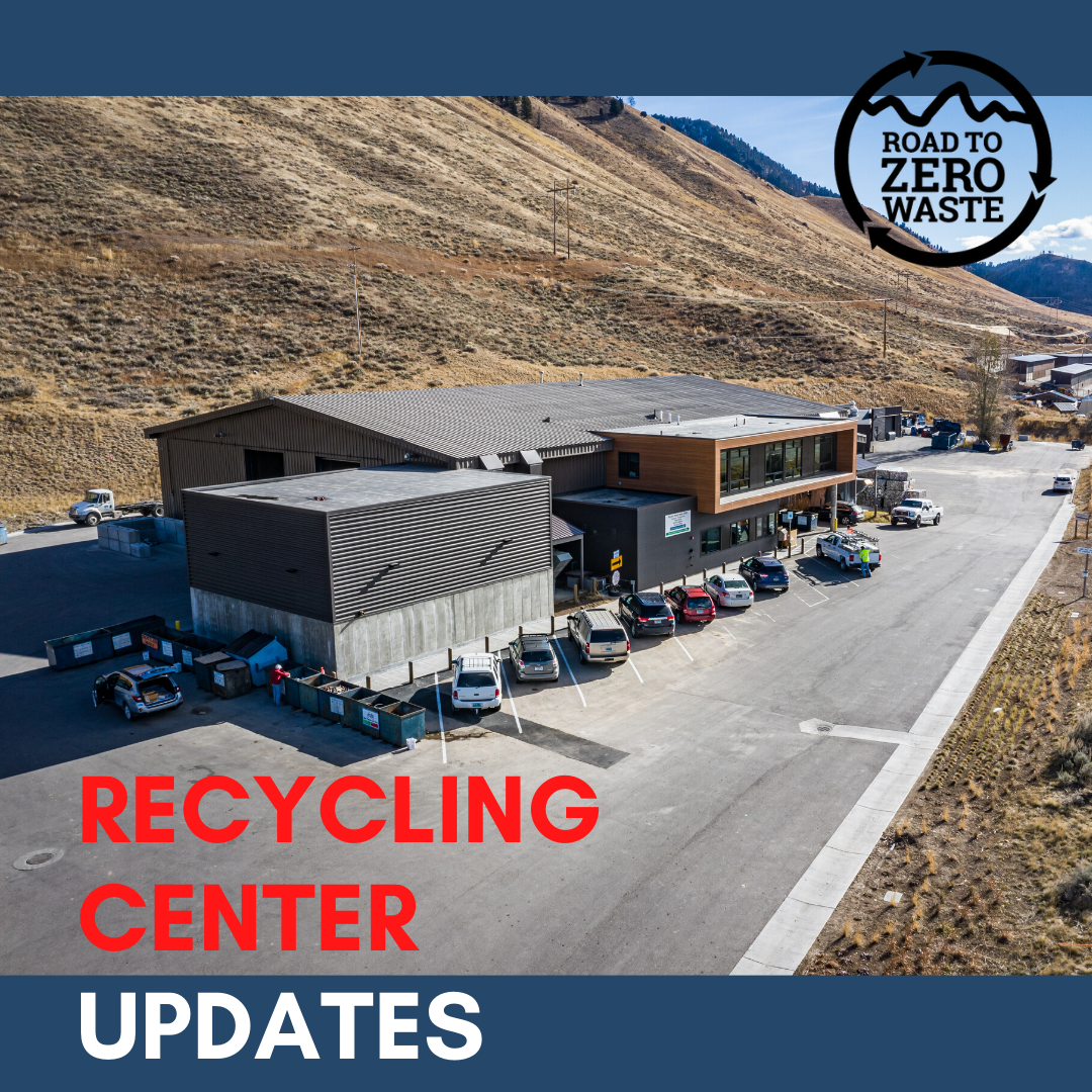 recycling center updates