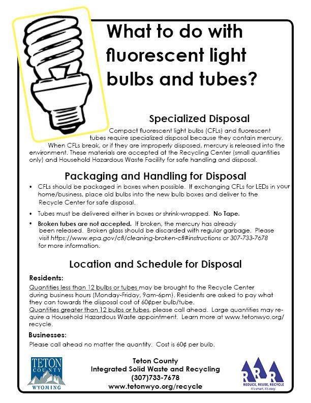 Fluorescent Lightbulbs document image