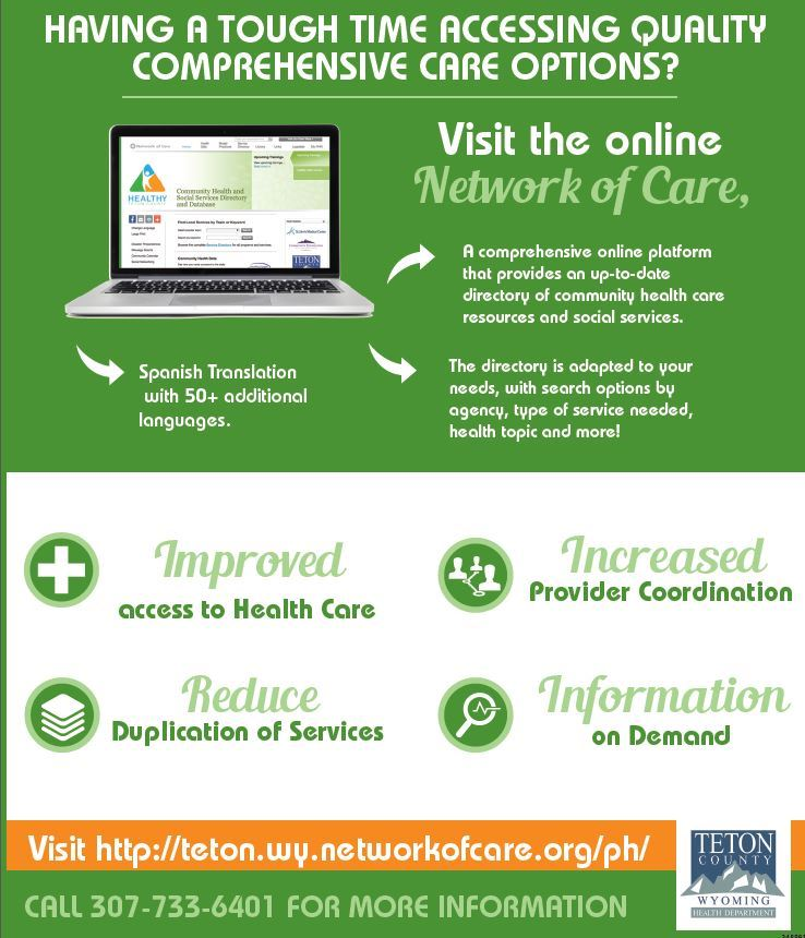network of care newspaper ad image