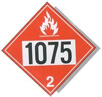 Flammable Products Sign